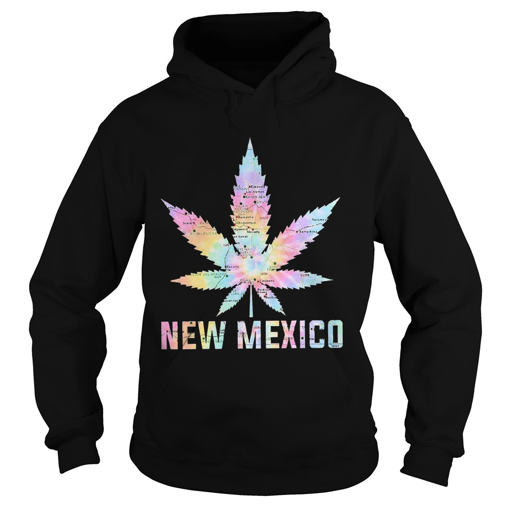 Weed Marijuana New Mexico To Map  Hoodie