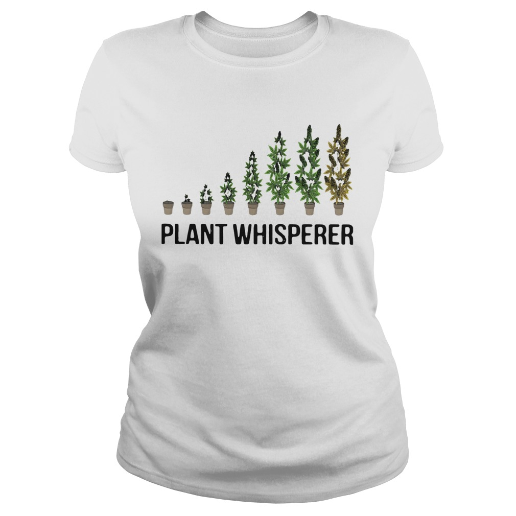 Weed Plant Whisperer  Classic Ladies