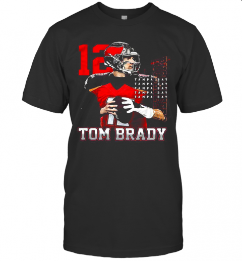 12 Tom Brady Tampa Bay Buccaneers T-Shirt Classic Men's T-shirt