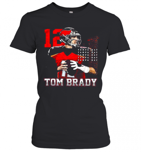 12 Tom Brady Tampa Bay Buccaneers T-Shirt Classic Women's T-shirt