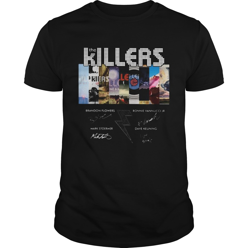 1594976716The killers band members signatures  Unisex