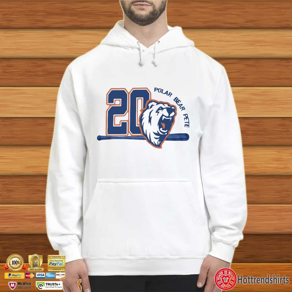 20 Polar Bear Pete Shirt Hoodie trắng