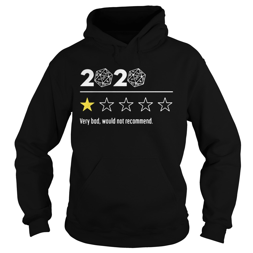 2020 Dungeons and Dragons Dice d20 very bad would not recommend  Hoodie