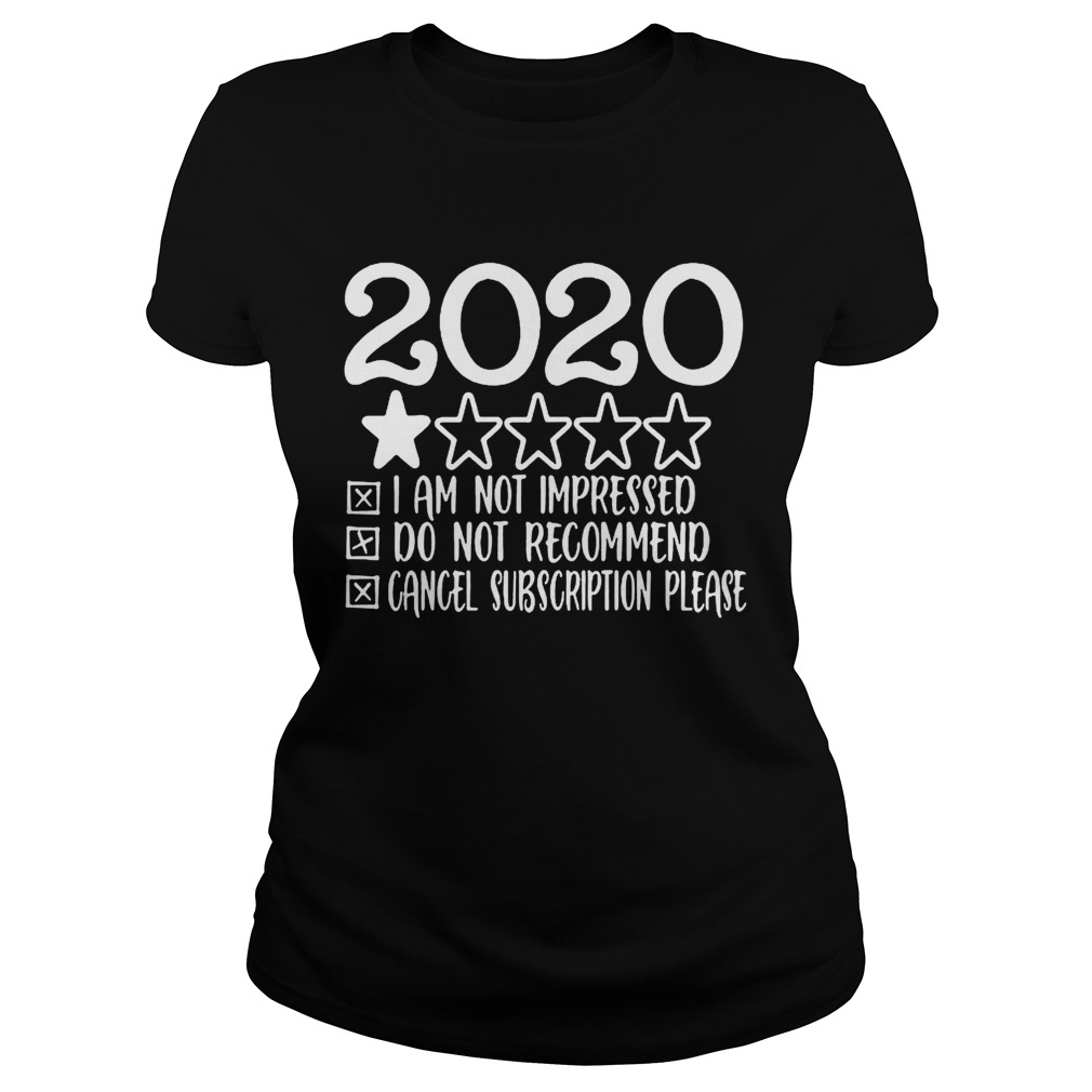 2020 i am not impressed do not recommend cancel subion please stars  Classic Ladies