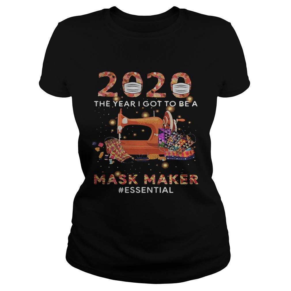 2020 mask the year i got to be a mask maker essential colors  Classic Ladies