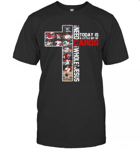 All I Need Today Is A Little Bit Of Cards And A Whole Lot Of Jesus Football T-Shirt Classic Men's T-shirt