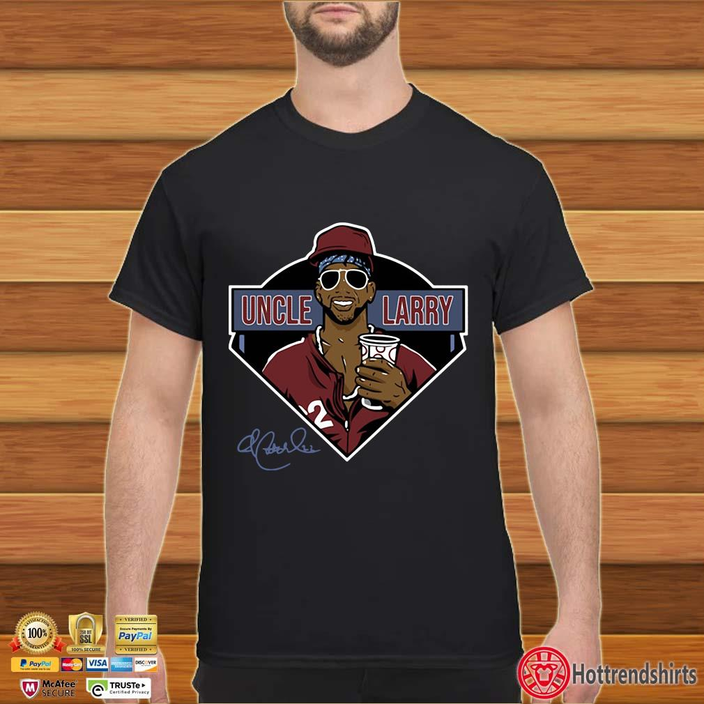 Andrew Mccutchen Uncle Larry Signature Tee Shirt
