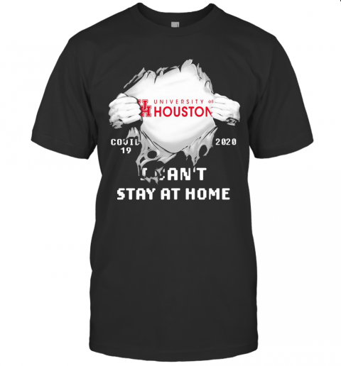 Blood Insides University Of Houston Covid 19 2020 I Can'T Stay At Home T-Shirt Classic Men's T-shirt