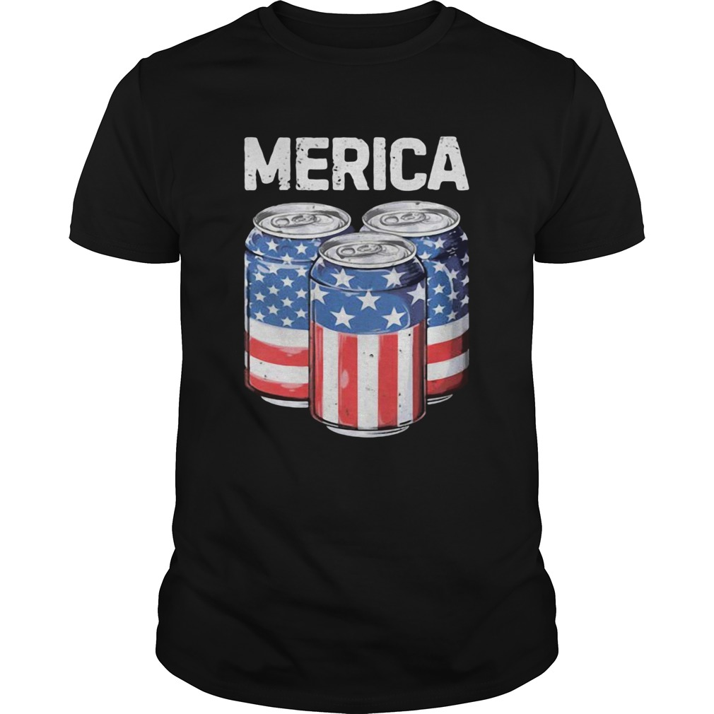 Merica Water Cans American  Unisex
