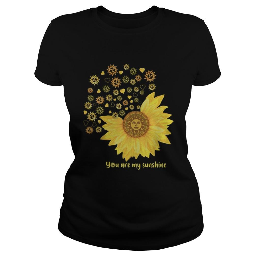 You Are My Sunshine Heart Sunflower Classic Ladies