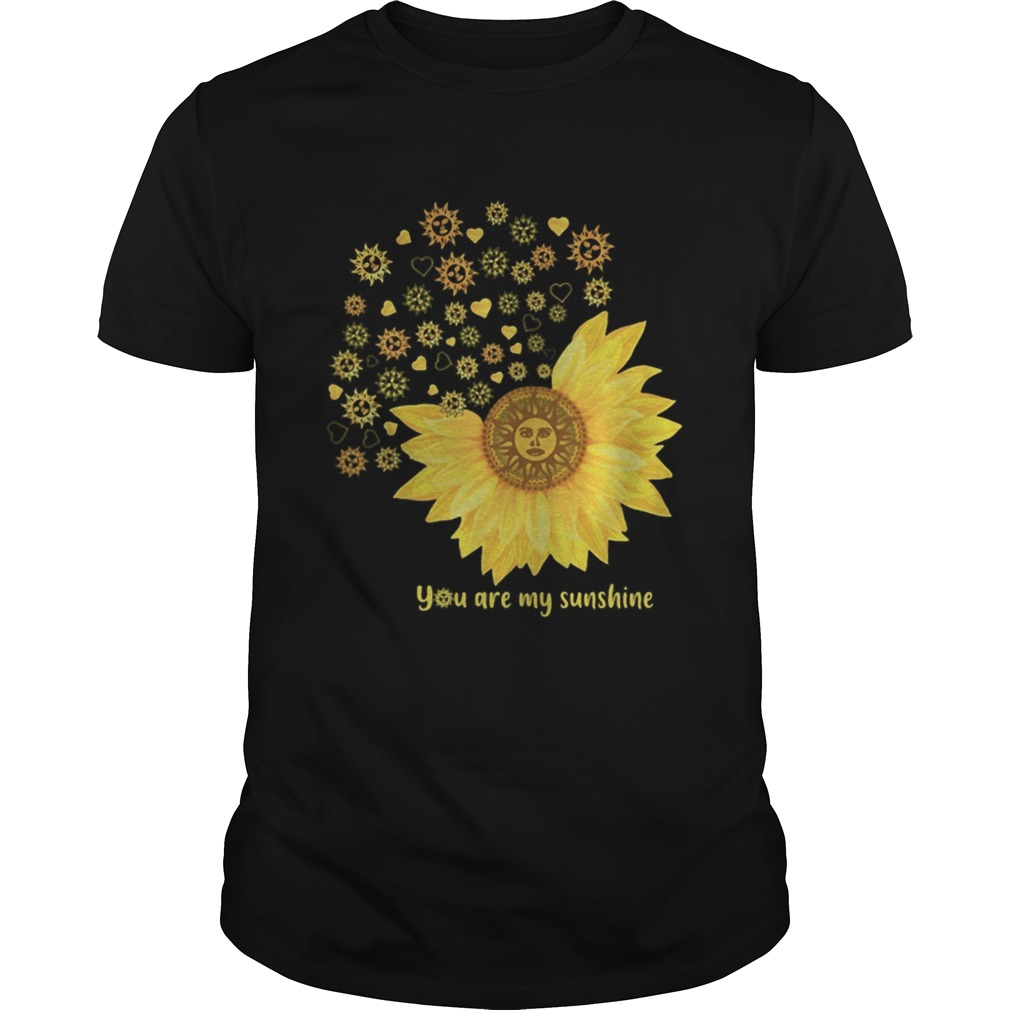 You Are My Sunshine Heart Sunflower Unisex
