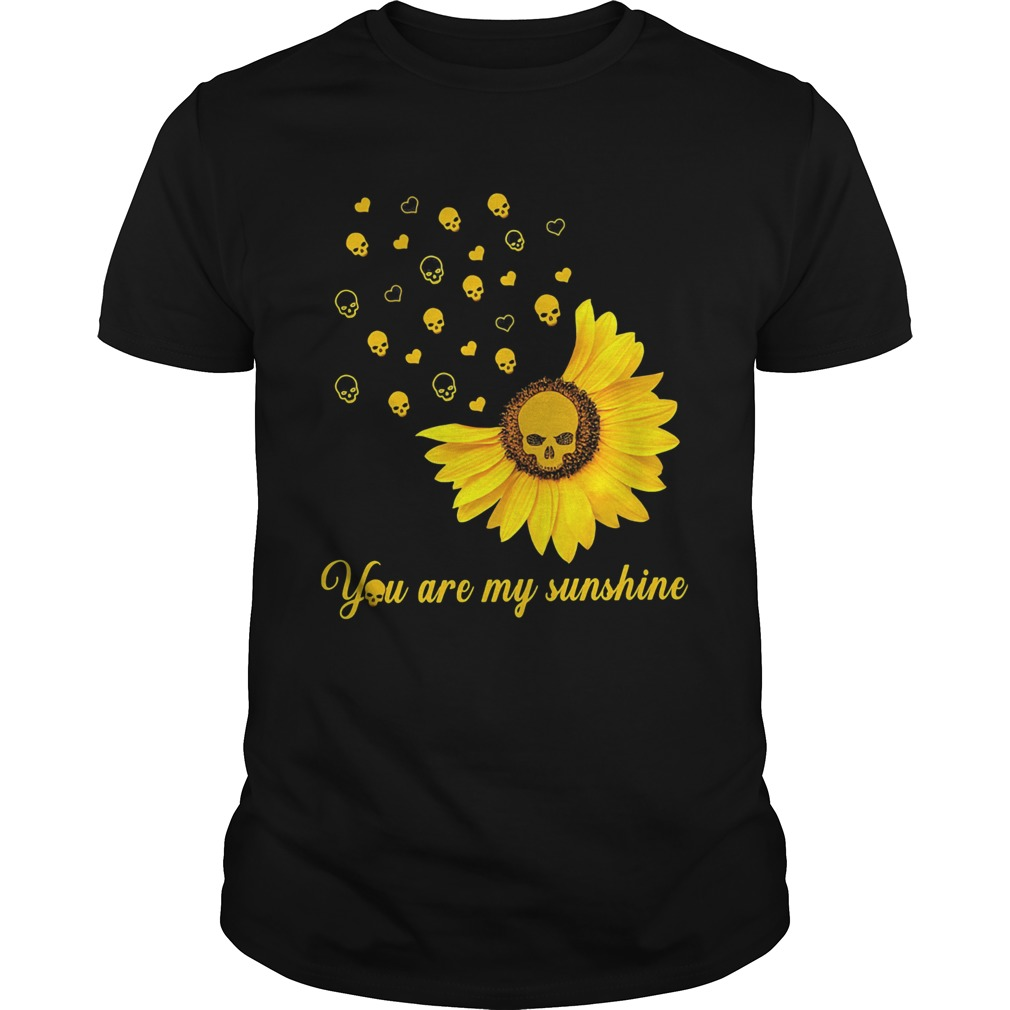 You Are My Sunshine Sunflower Skullcap  Unisex