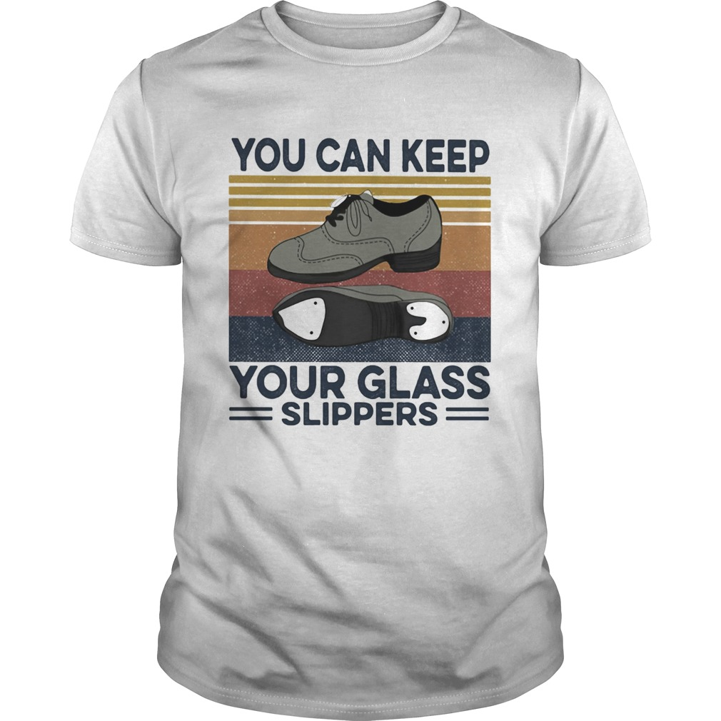 You can keep your glass slippers Tap Dance Vintage retro  Unisex