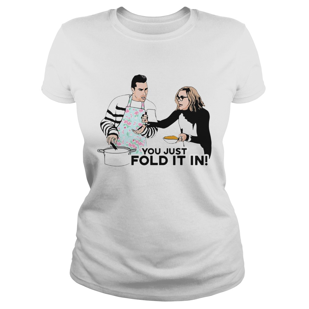 You Just Fold It In  Classic Ladies