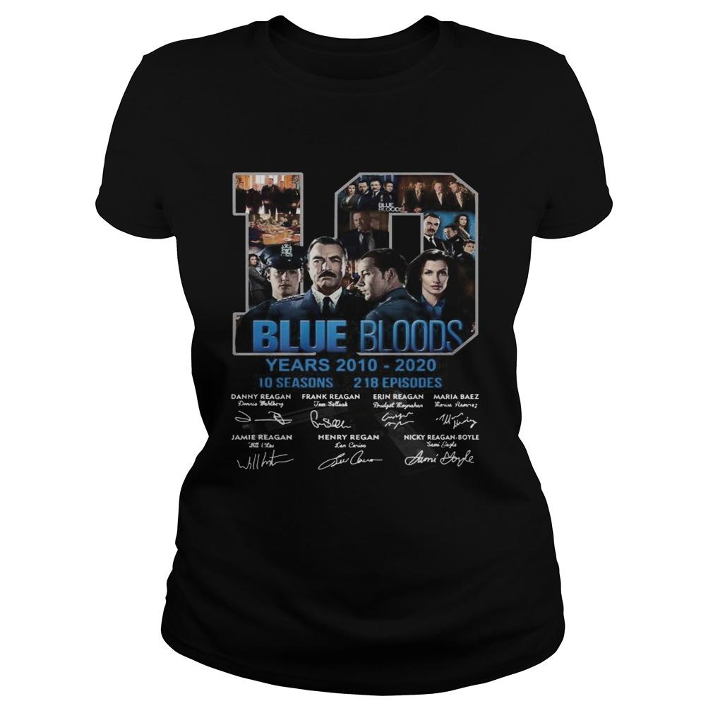 19 Blue Bloods Year 20102020 Signatures  Classic Ladies