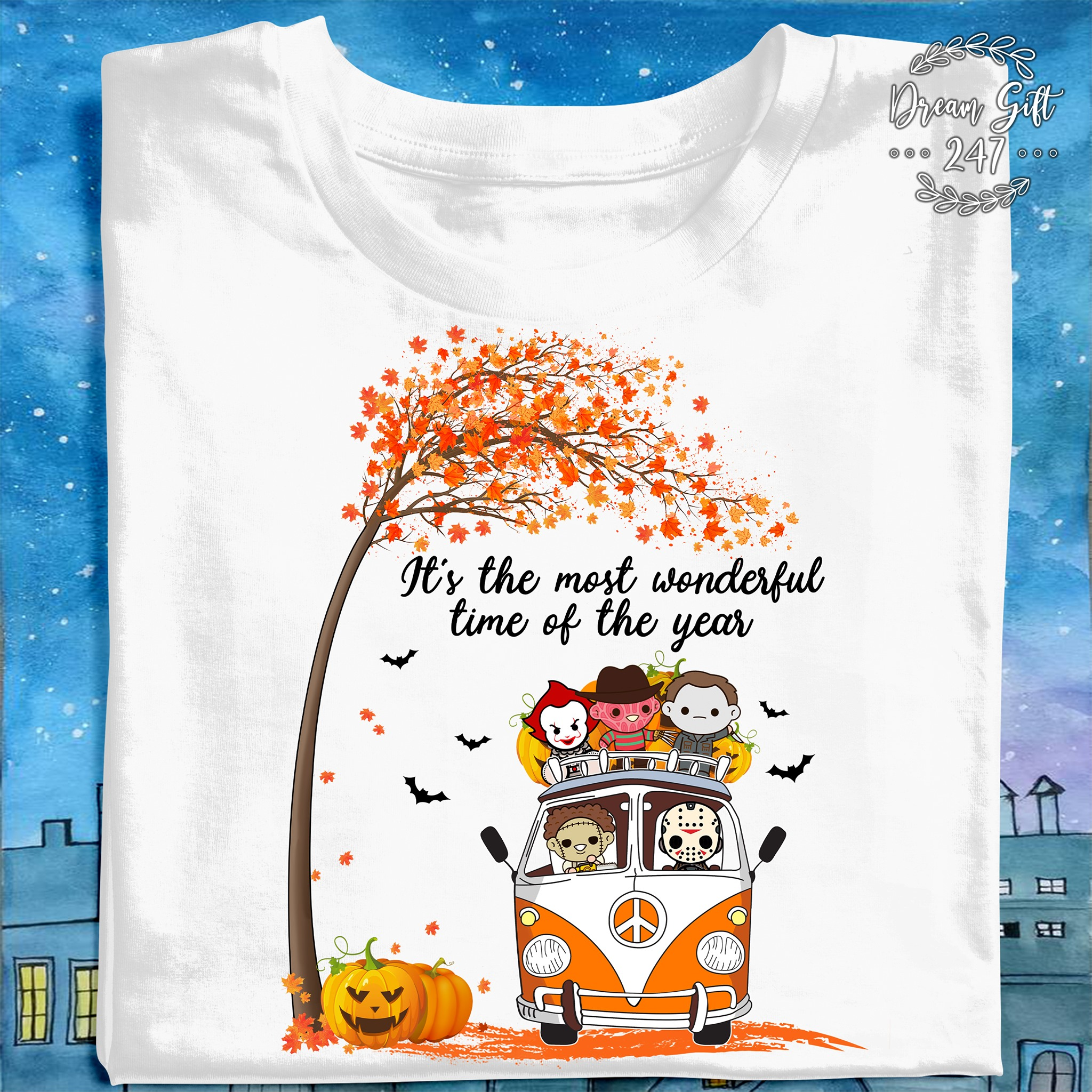 2020 Horror Halloween It's The Most Wonderful Time Of The Year TShirt