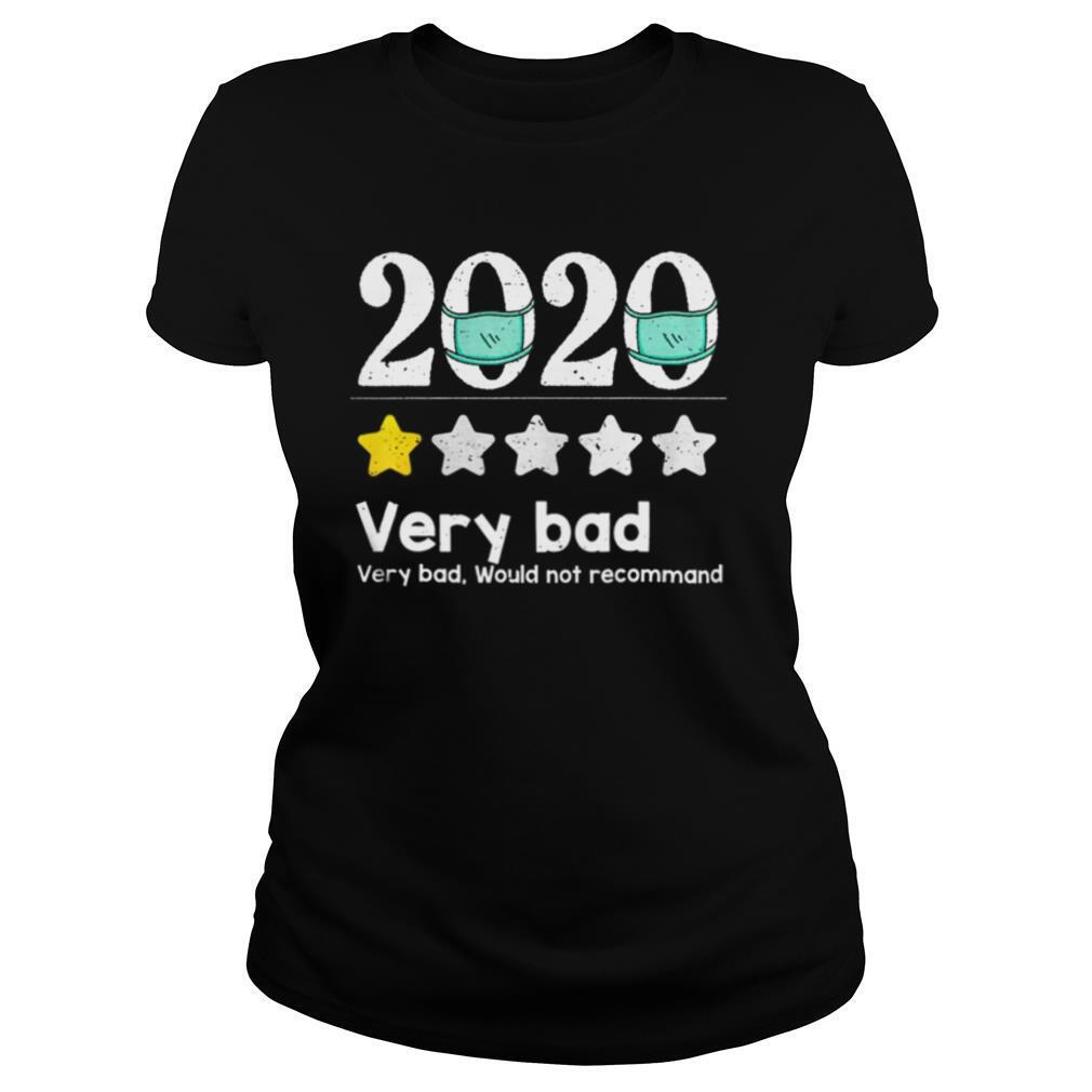 2020 Review – 1 Star Very bad year would not recommend shirt