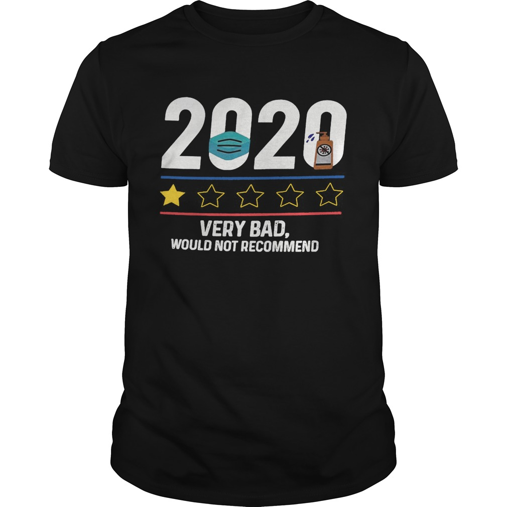 2020 very bad would not recommend mask and washing hand  Unisex