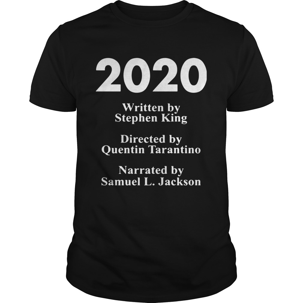 2020 written by Stephen king directed by Quentin Tarantino narrated by Samuel L Jackson  Unisex