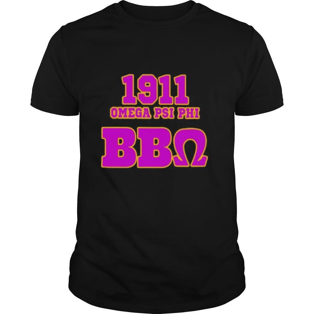 1911 omega psi phi bbo shirt