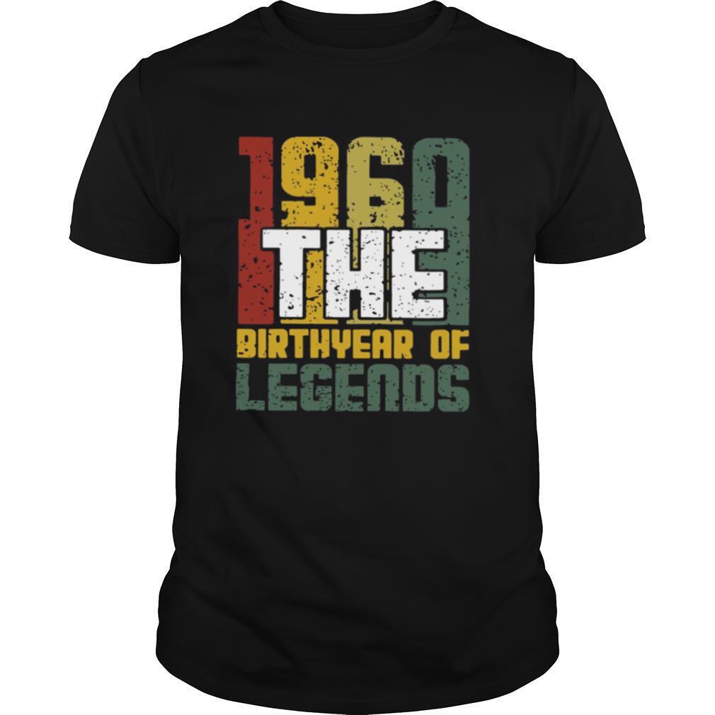 1960 The Birthyear Of Legends shirt