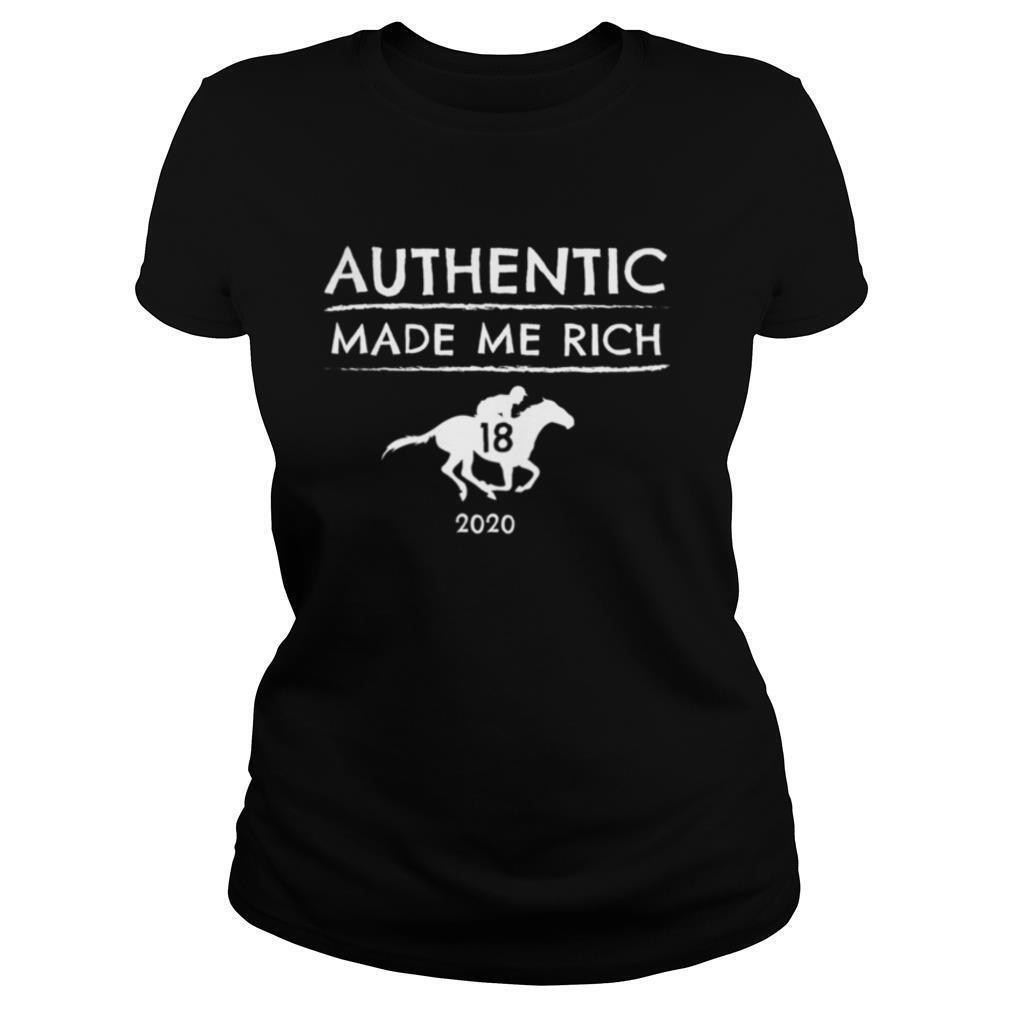2020 Derby Winner Authentic Graphic Horse Racing Phrase shirt