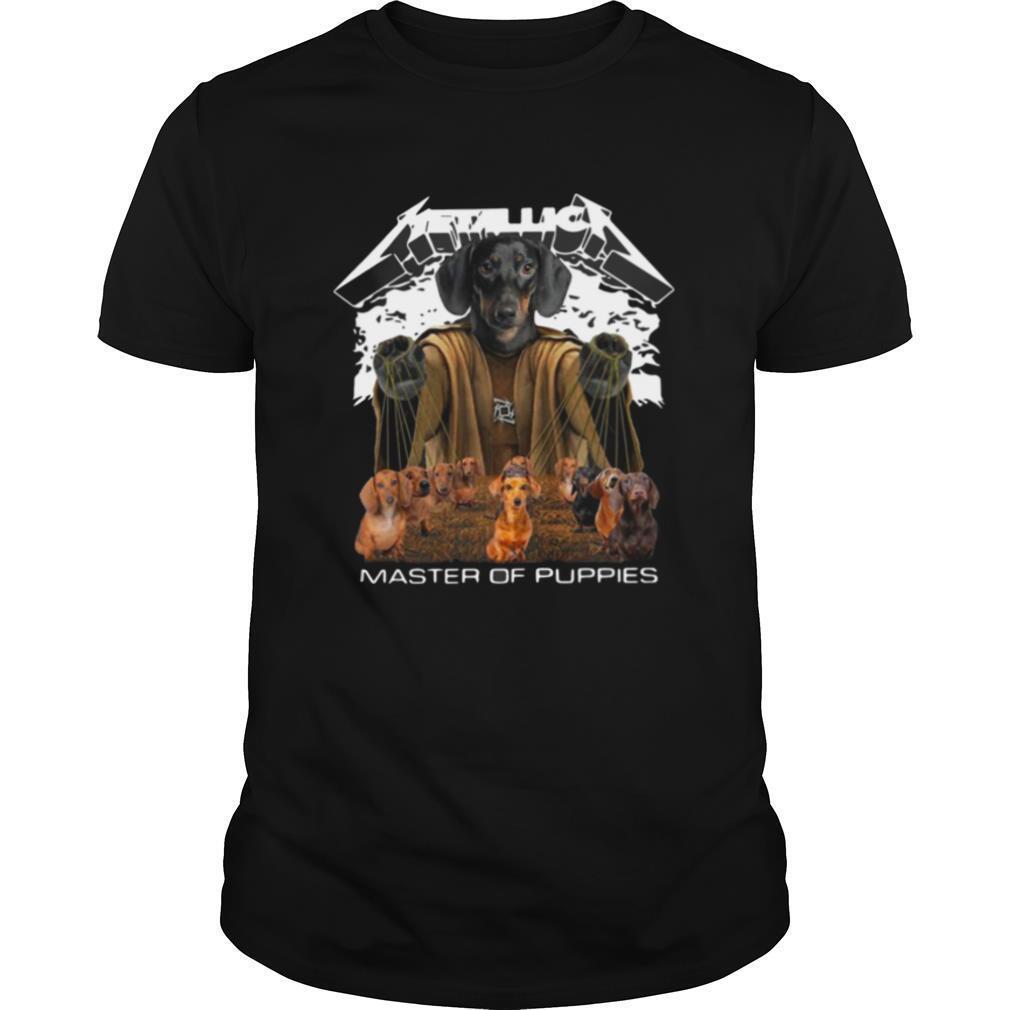 2020 Halloween Metallica Dachshund Master Classic shirt