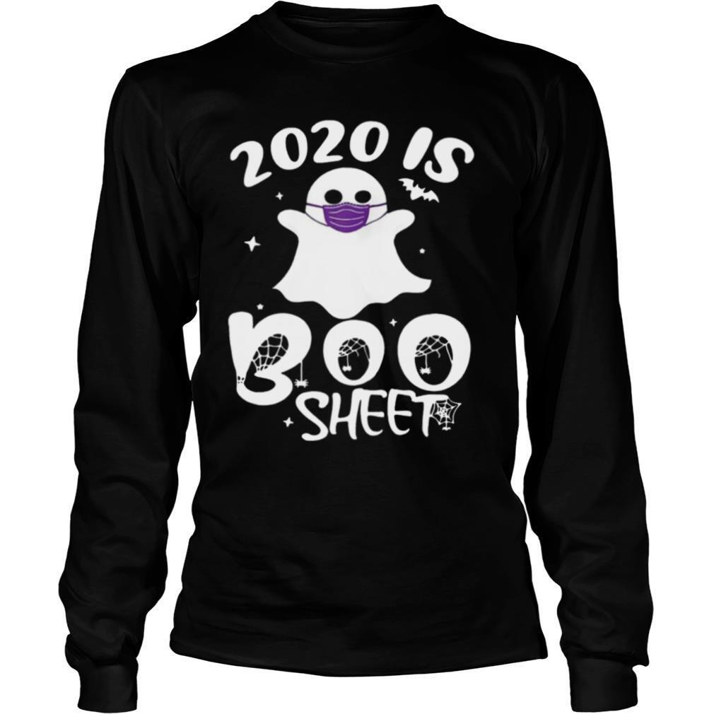 2020 Is Boo Ghost Wear Mask Halloween tshirts