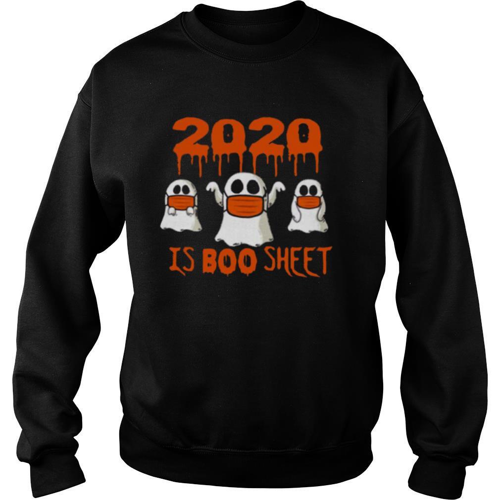 2020 Is Boo Sheet Face Mask Halloween shirt