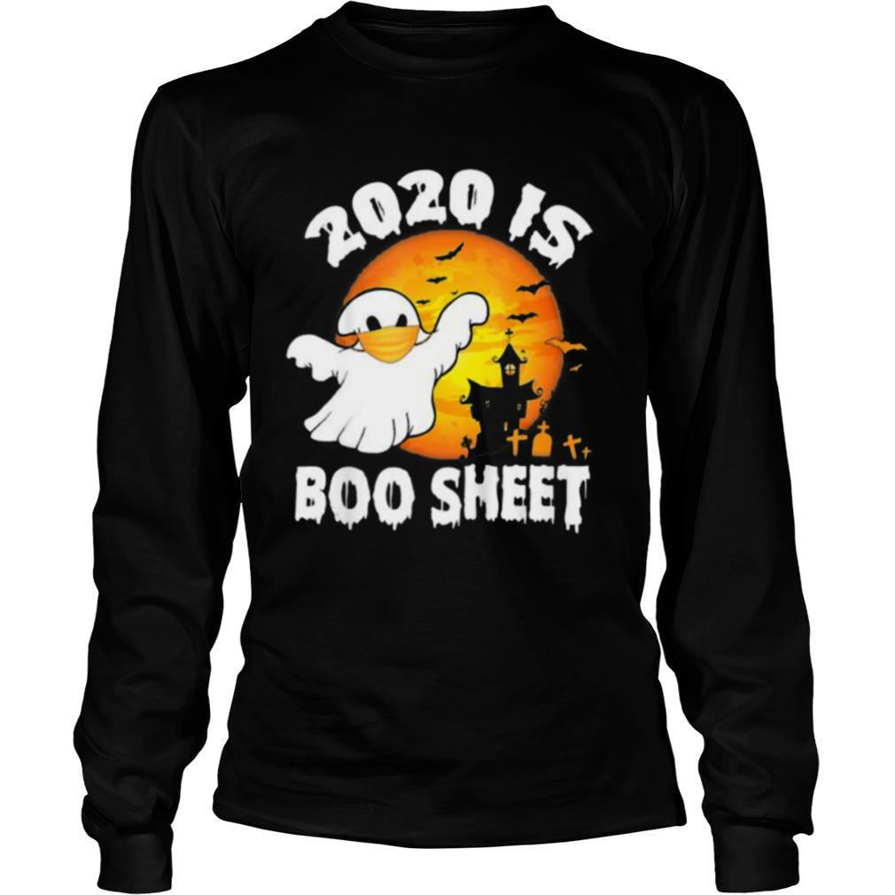 2020 Is Boo Sheet Halloween Costume Ghost Wear Mask Vintage shirt
