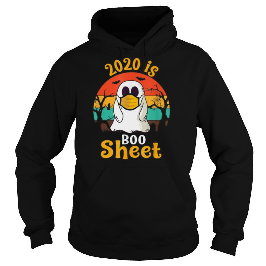 2020 is Boo Sheet Halloween Ghost in Mask shirt
