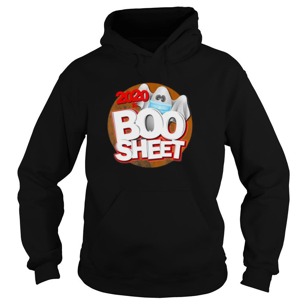 2020 is Boo Sheet Halloween humor pun ghost shirt