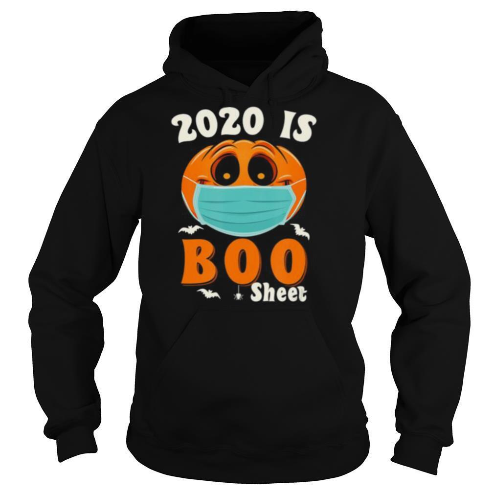 Halloween 2020 Boo Sheet Pumpkin Mask shirt