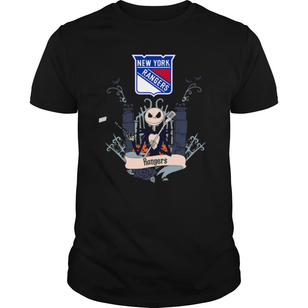 Halloween jack skellington new york rangers shirt