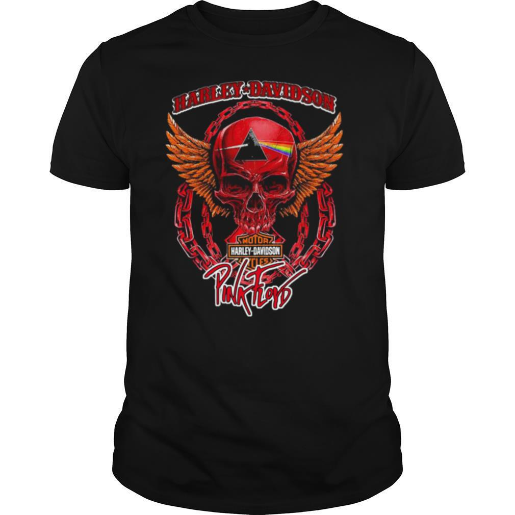 Harley Davidson Cycles Pink Floyd shirt