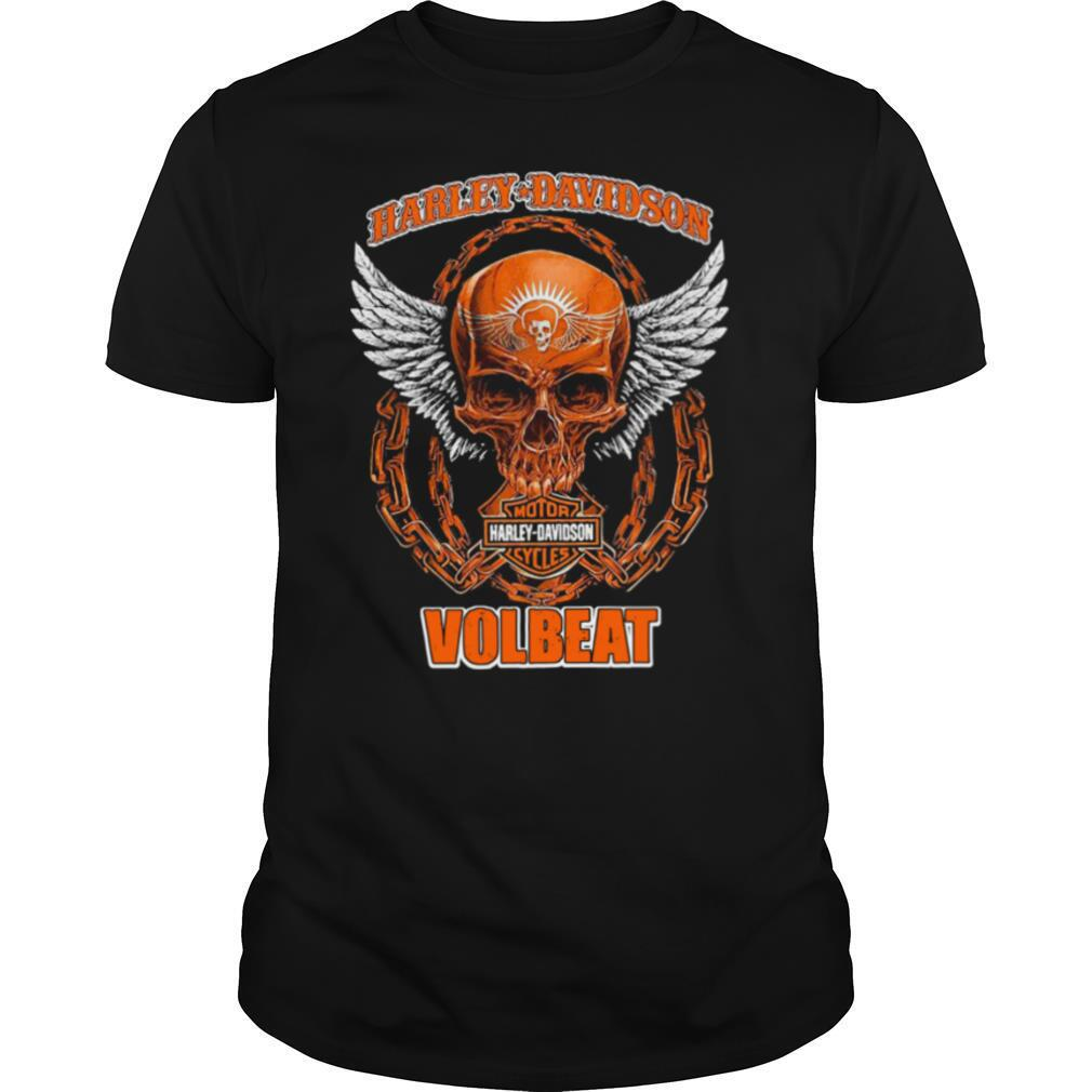 Harley Davidson Cycles Volbeat shirt