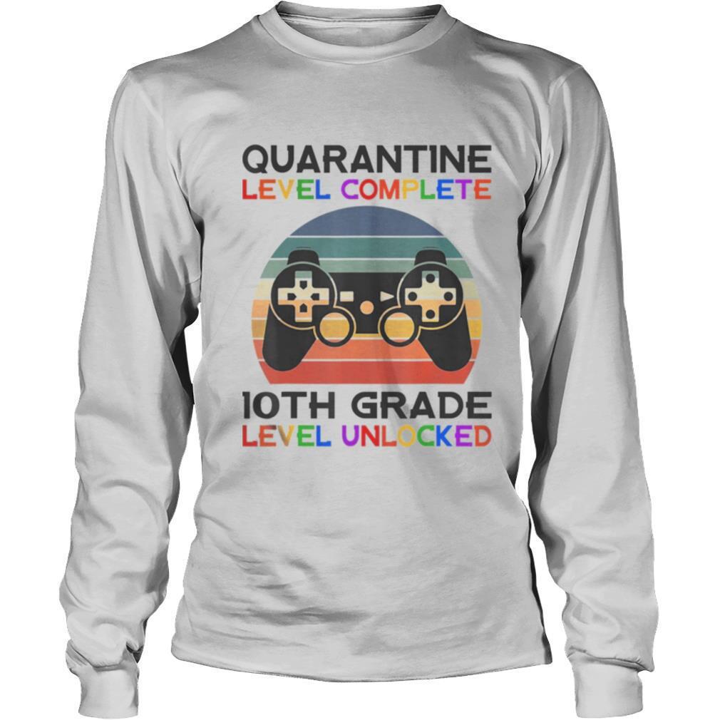 Quarantine Lever 10th Grade Unlocked School Vintage shirt