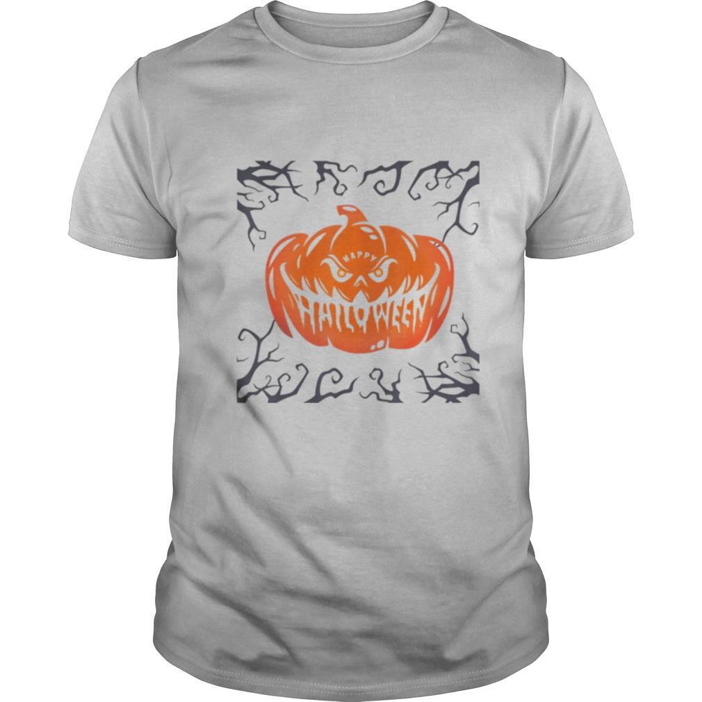 Scary Night Pumpkin Face shirt