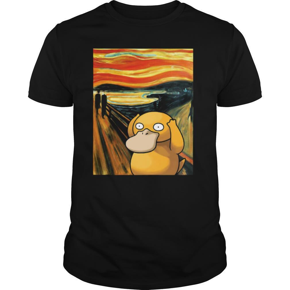 Scream Pokemon Psyduck shirt