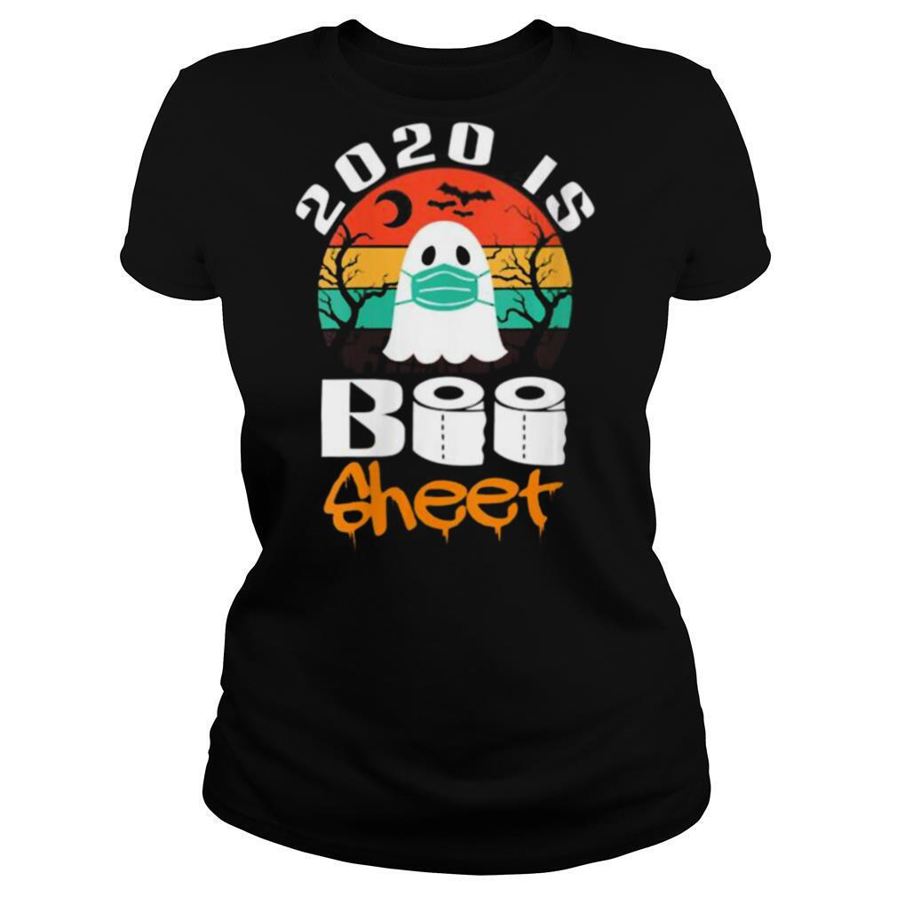 Vintage Halloween 2020 Is Boo Sheet shirt