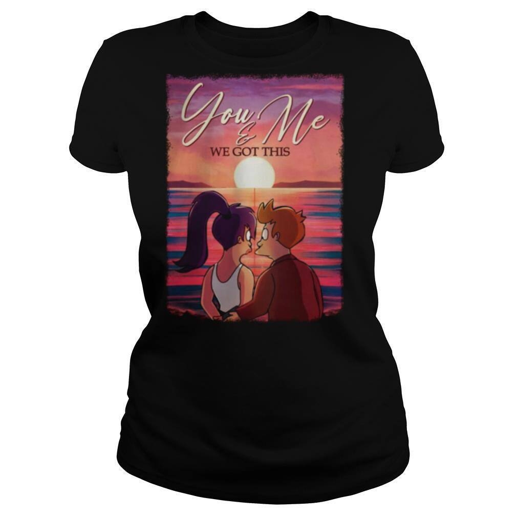 You And Me We Got This Gallery Wrapped Framed Canvas Prints shirt