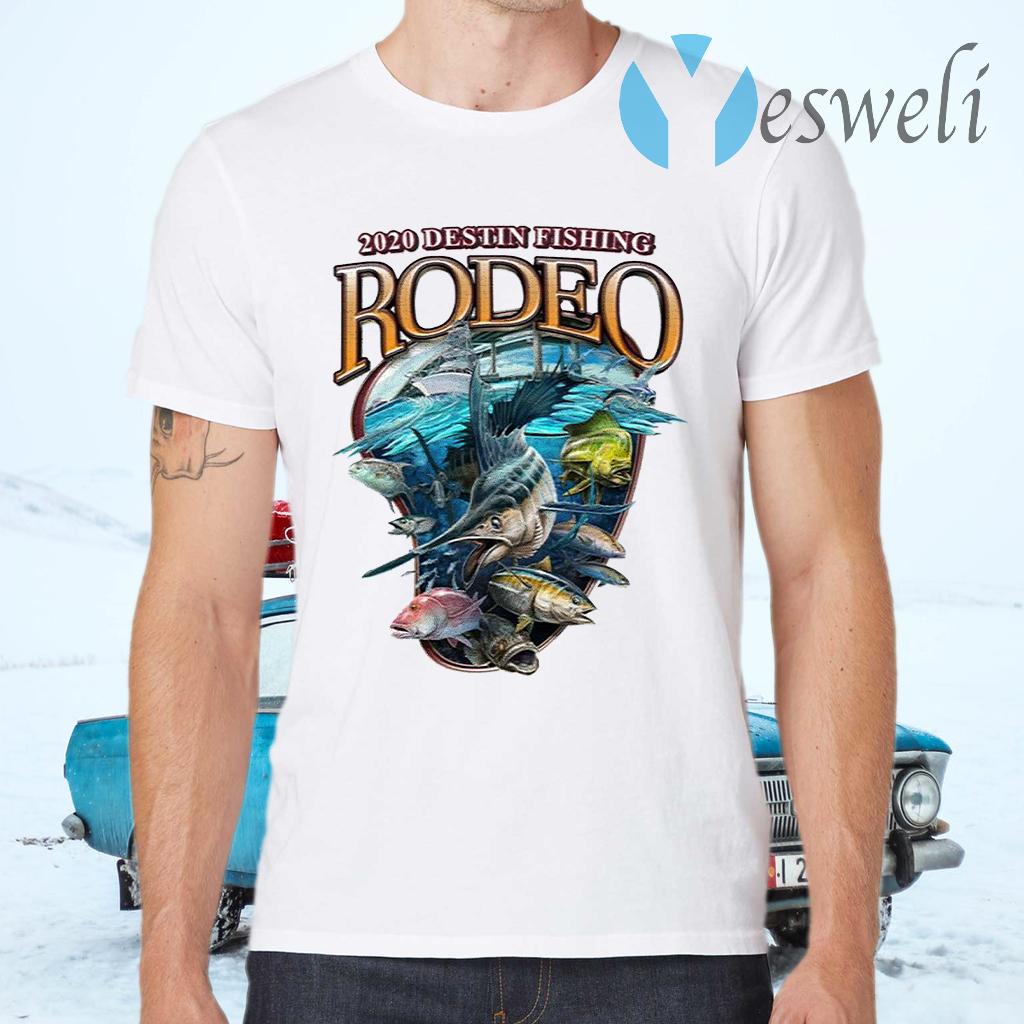 2020 Destin Fishing Rodeo T-Shirts