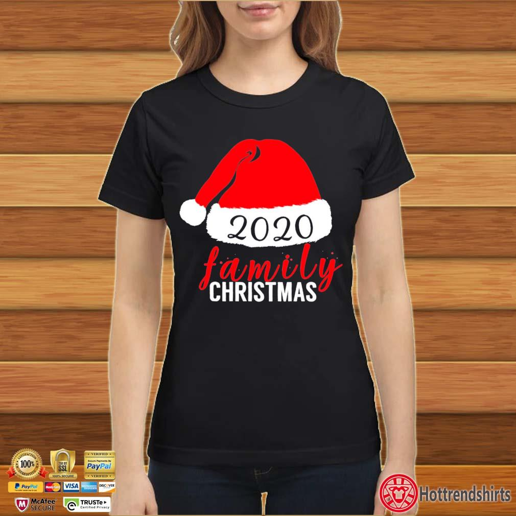 2020 Family Christmas sweats Ladies đen