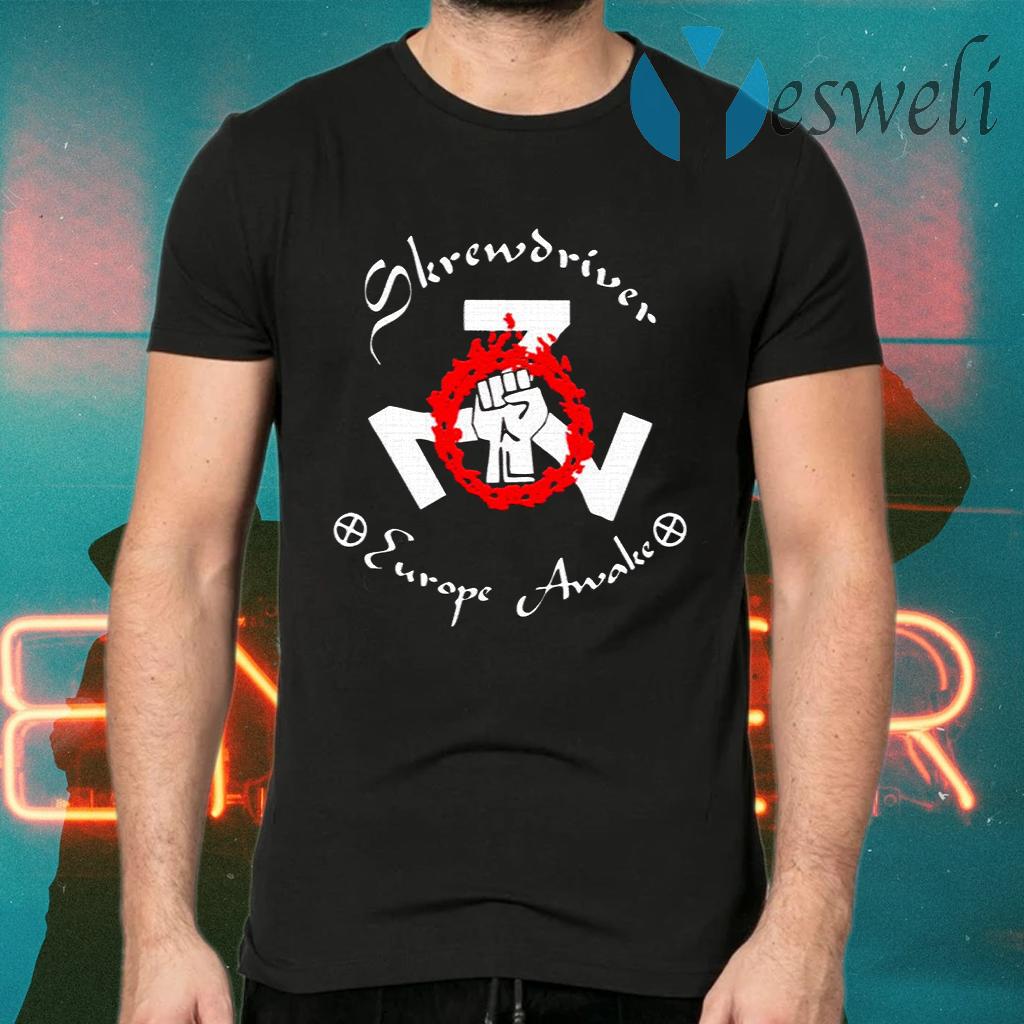 Shane Burley Skrewdriver Europe T-Shirt - Hottrendshirts