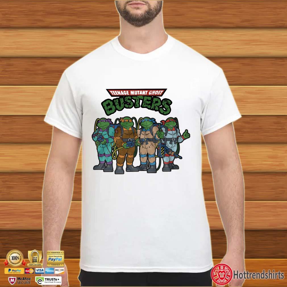 Teenage mutant ghost busters shirt