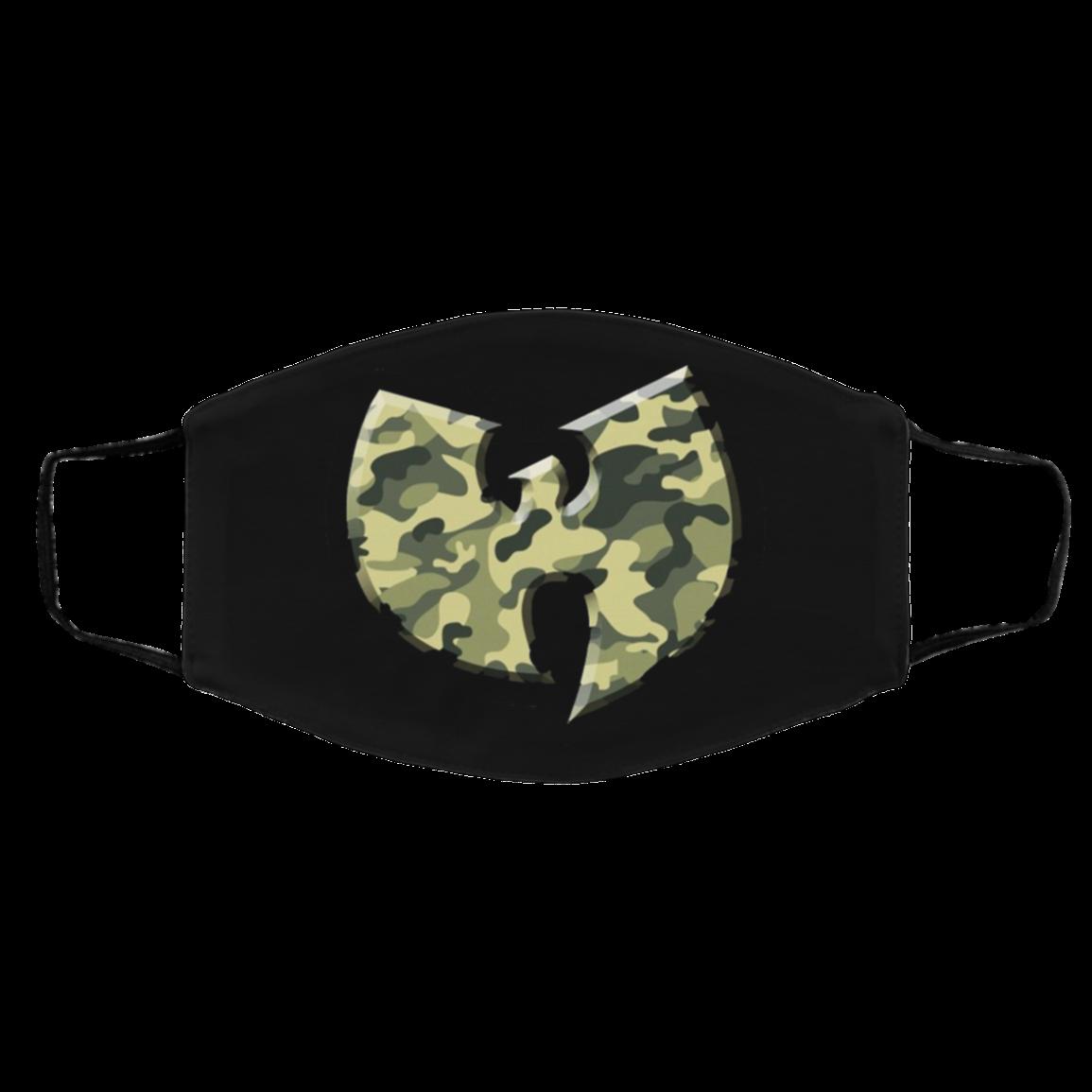 3D WuT-ang Camo Filter Face Mask