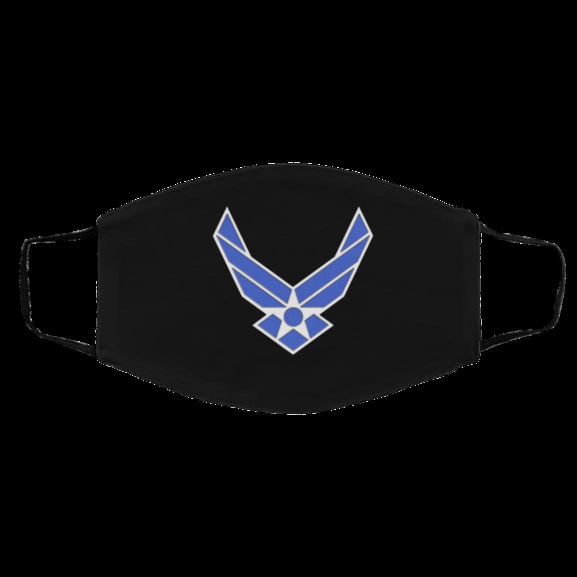 Ai-r F-orce – Us A-ir- Forc-e Flag Filter Face Mask