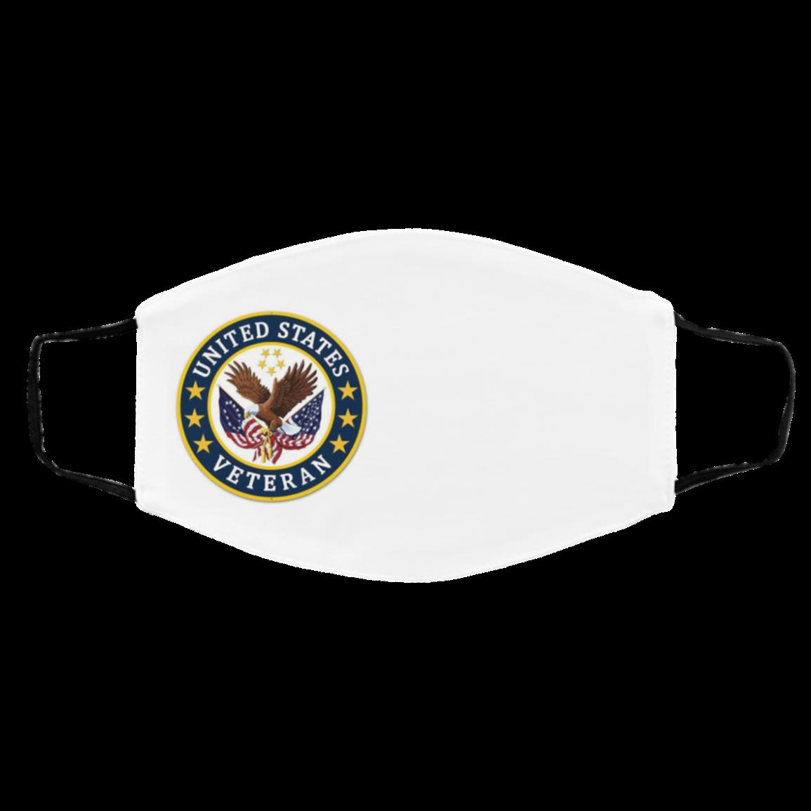 Bald Eagle US Coast- G-uard Veteran Face Mask