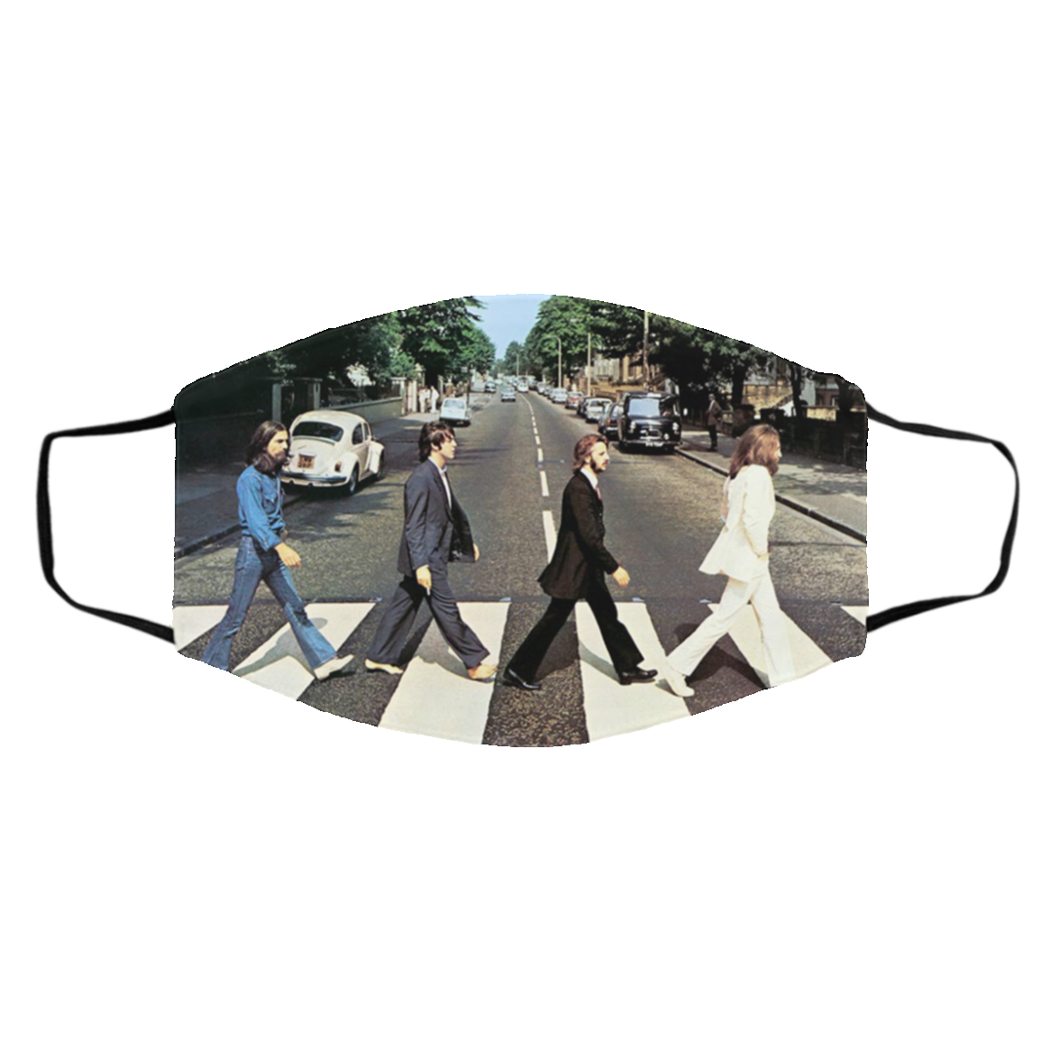 Abbey Road Original Remastered By The Beatles Filter Face Mask