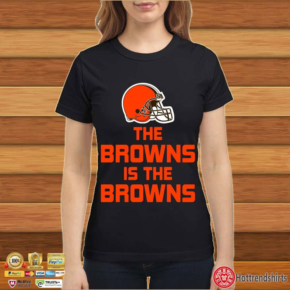 Funny The Cleveland Browns is the Browns s Ladies đen
